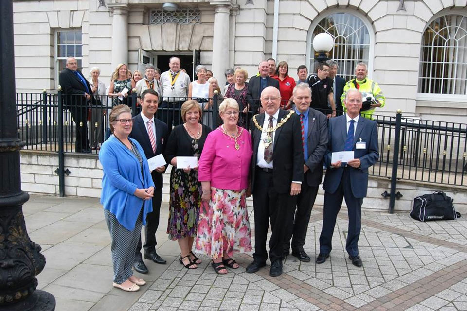Mayor Charity Presentation August 2014