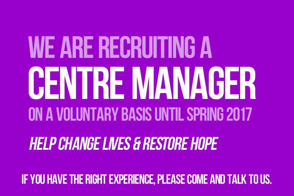 Voluntary Centre Manager