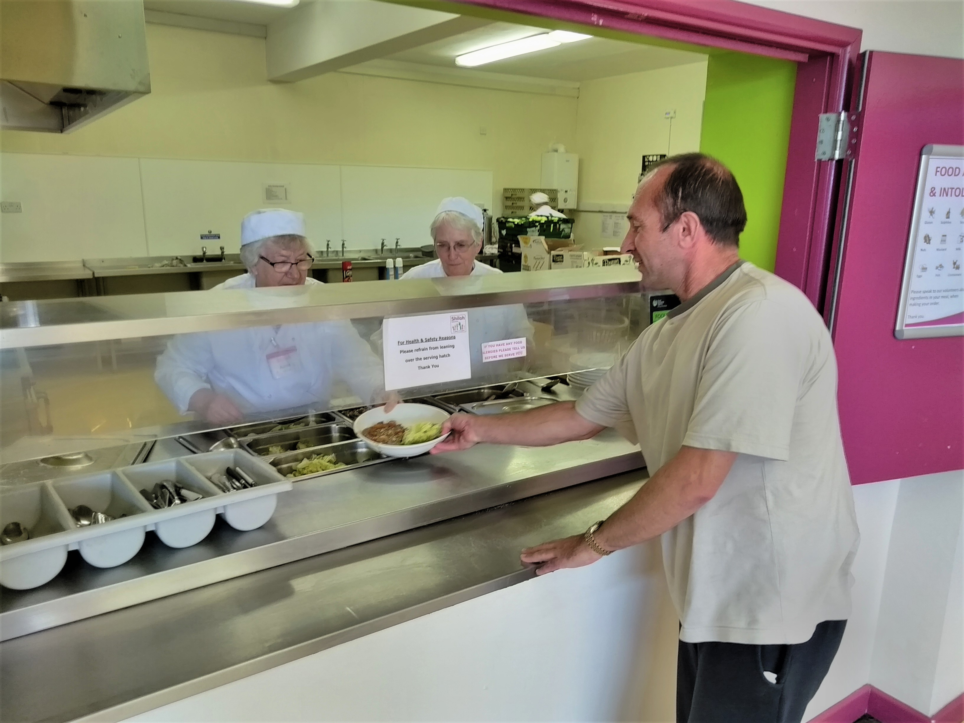 Shiloh provides 2 fresh hot meals a day